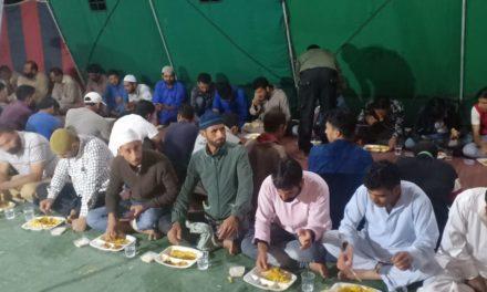 13 RR, Organized iftar party at Naidkhai