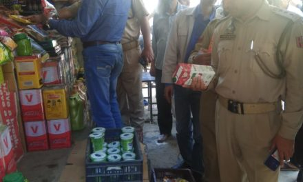 Anantnag police along with Executive Magistrates conduct market checking