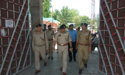 DIG CKR Reviewed Security Arrangements For Forth Coming Mela Kheerbawani In Ganderbal