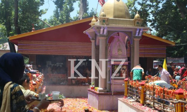 Mela Kheer Bhawani annual Mela celebrated with religious fervor In Tulmulla Ganderbal
