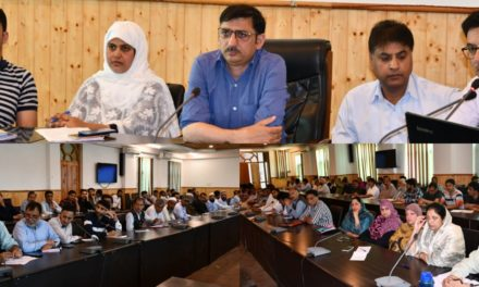 Back to Village Programme District Administration Ganderbal organizes Training programme