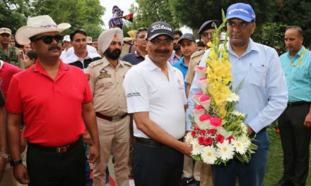 Police Golf Course thrown open by DGP J&K