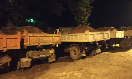 J&K police arrest 6 illegal excavators in Budgam, 9 dumpers seized