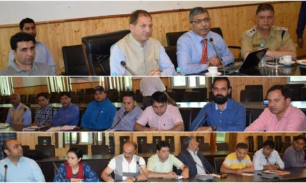 NDMA holds coordination meet prior to Mock Exercise ahead of SANJY-2019