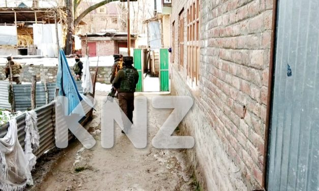 Govt forces launch cordon and search operation in Central Kashmir's Kangan