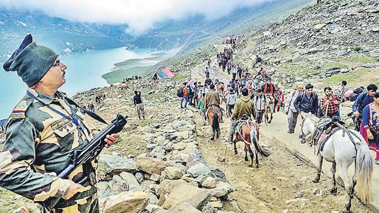 Amarnath Yatra-2019:Yatra crosses last year's mark of 2.85 lakh