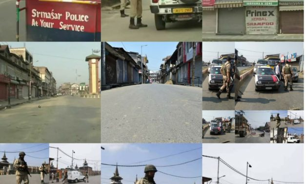 Shutdown, restrictions mark Burhan Wani's 3rd anniversary
