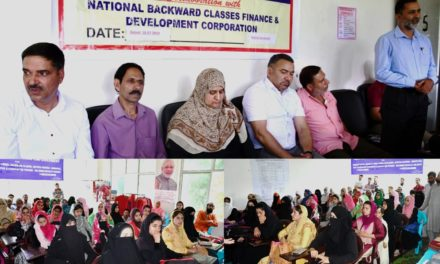 J&K SC/ST Corporation organizes awareness camp at  Ganderbal