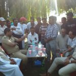 SDPO Zakura organised Police- Public meeting at Dargah Hazratbal