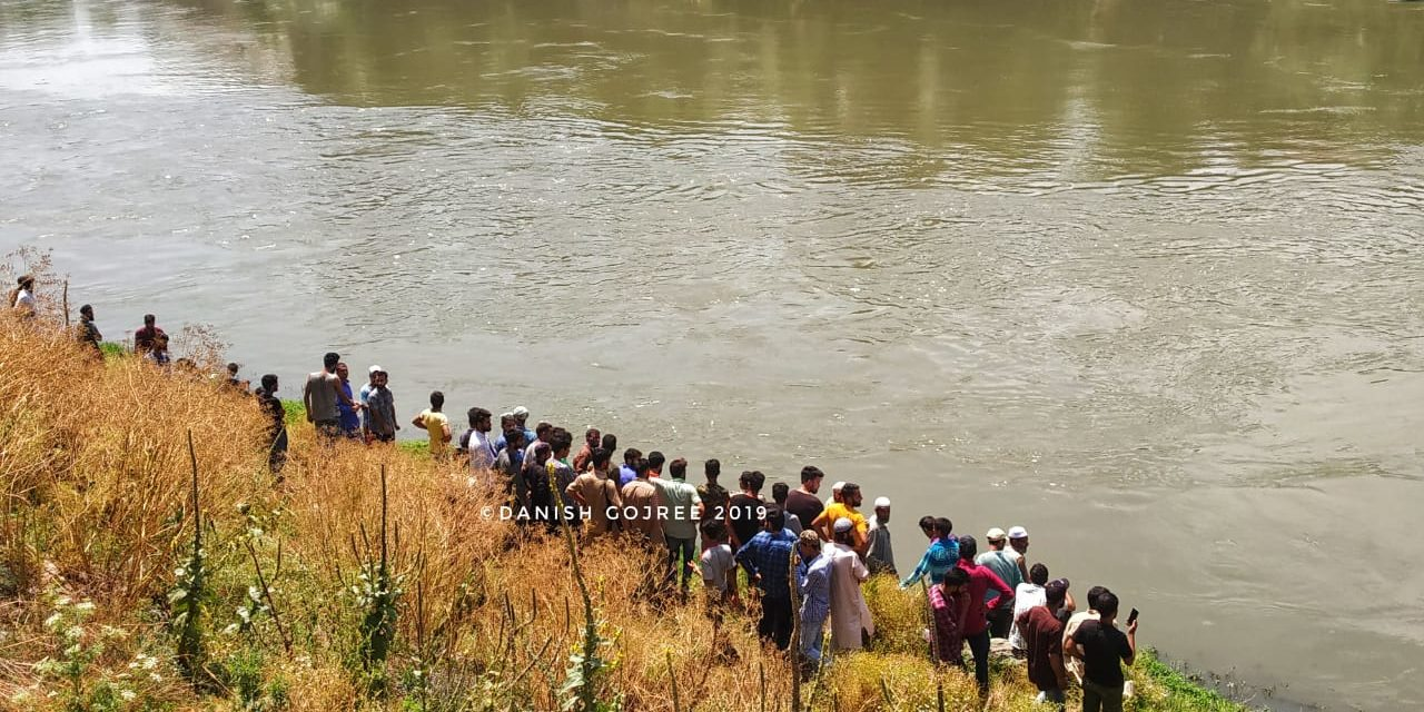 Boy drowns in Jehlum in Baramulla, police starts rescue operation