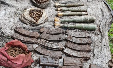 Militant hideout busted in Mandhaan Doda, arms, ammo recovered