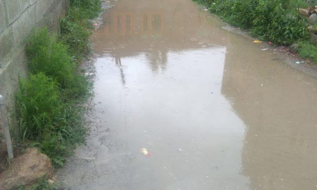 Waterlogging problem irks shahabad Veeri residents, locals demand proper drainage system