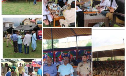 Bandipora Police organizes free medical camp