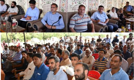 DDC Ganderbal holds public grievance camp at Dab