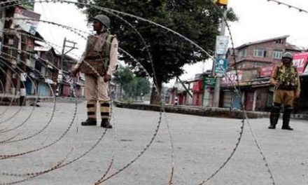 Restrictions in parts of Downtown Srinagar