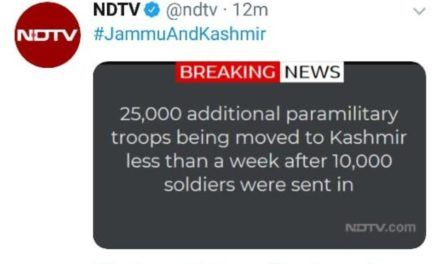 More paramilitary personnel flying in, claim media reports