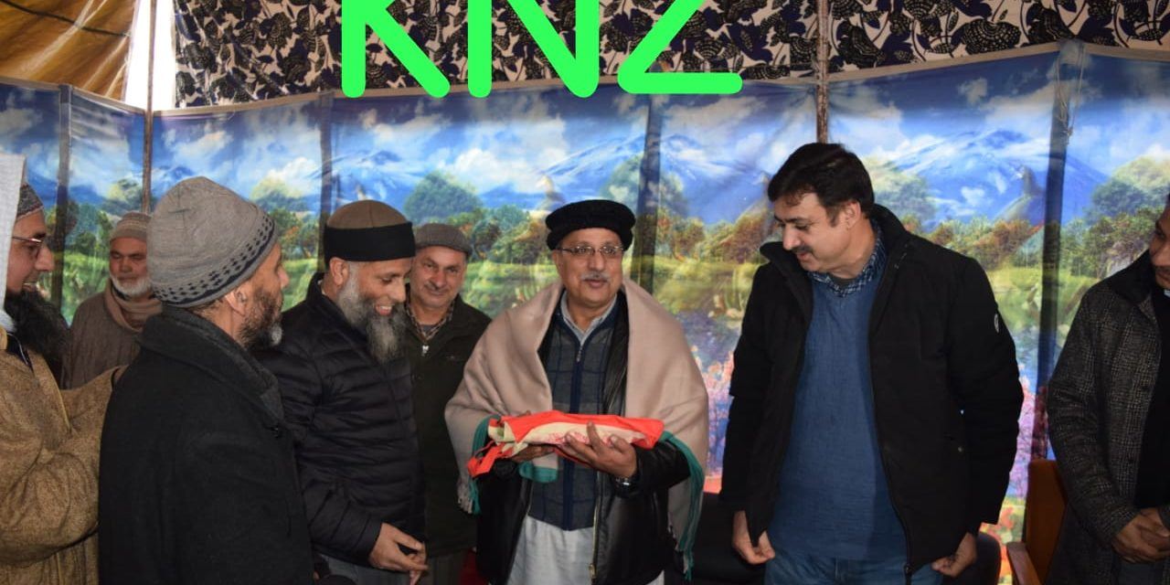 Warm farewell party was organized by the staff members of New Ganderbal Hydro Project