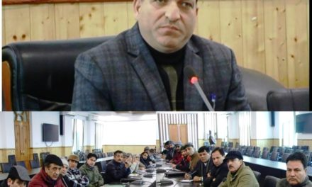 DDC Ganderbal takes stock of healthcare facilities in the district.