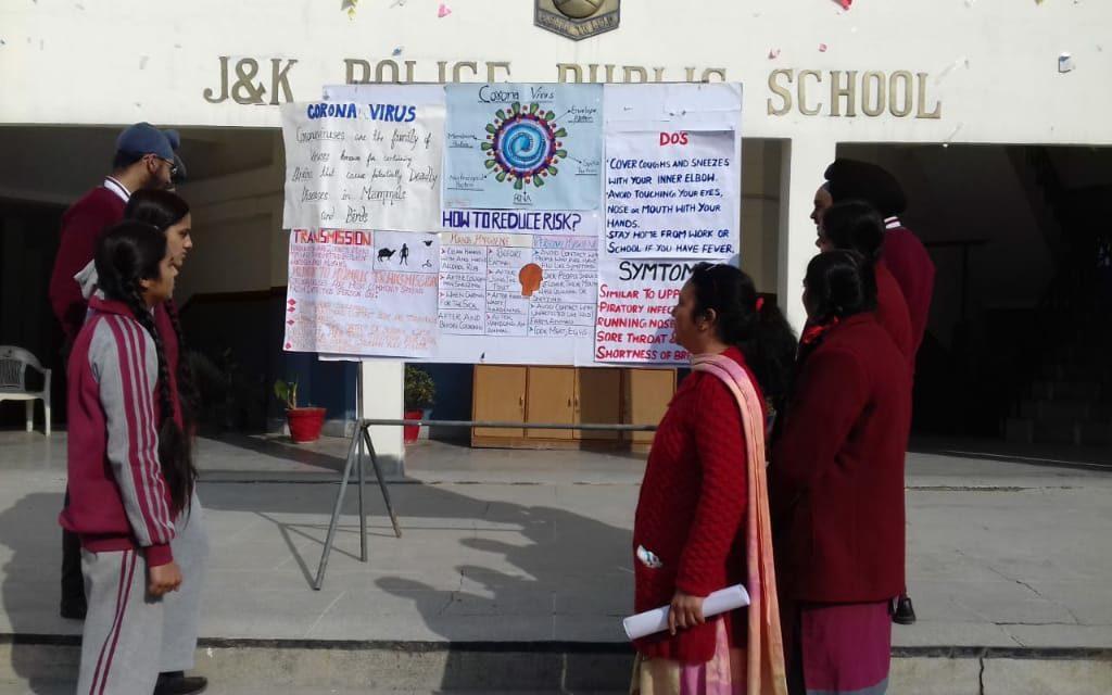 JKPPS organizes awareness Campaign on Coronavirus