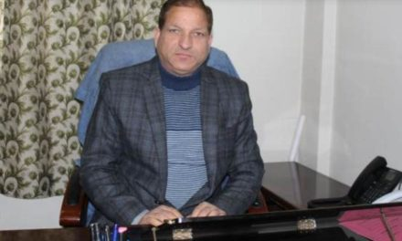Shafqat Iqbal Assumes Charge as DDC Ganderbal,Chairs Introductory meet