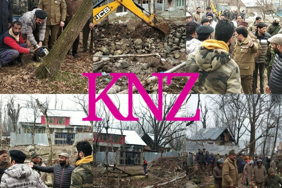 Anti-Encroachment Drive In Chinner Kangan,Nearly 9.15 Kanals Of Land retrieved