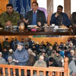 DDC Ganderbal held public interaction at several places, takes stock of public grievances