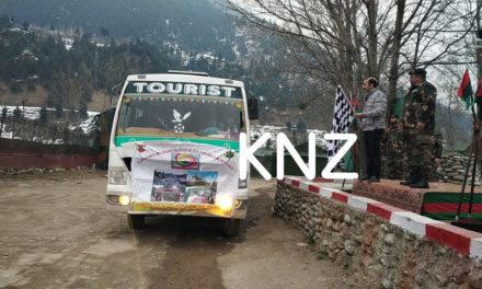 Students return from Army organized tour in Ganderbal
