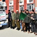 DDC G'bal flagged off 20 Progressive Fish Farmers under ATMA