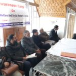 Awareness Camp on social welfare schemes and Social Security measures held in Mammer Kangan