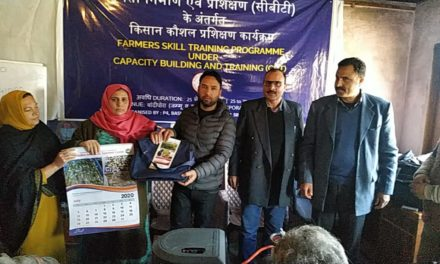 Department of Sericulture organizes 5-day farmers' skill training in Bandipora
