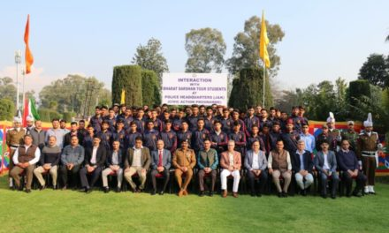 DGP, senior officers interact with Bharat Darshan tour students; Students express gratitude to PoliceShare your experiences in schools: DGP advises students