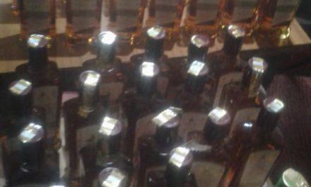 Anantnag Police arrests bootlegger, recovers 61 bottles of illicit liquor