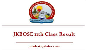 11th Class Regular Examination Result for Kashmir Division likely to be declared Tomorrow
