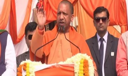 Those who support terrorists in Kashmir are staging protest at Shaheen Bagh: Yogi Adityanath