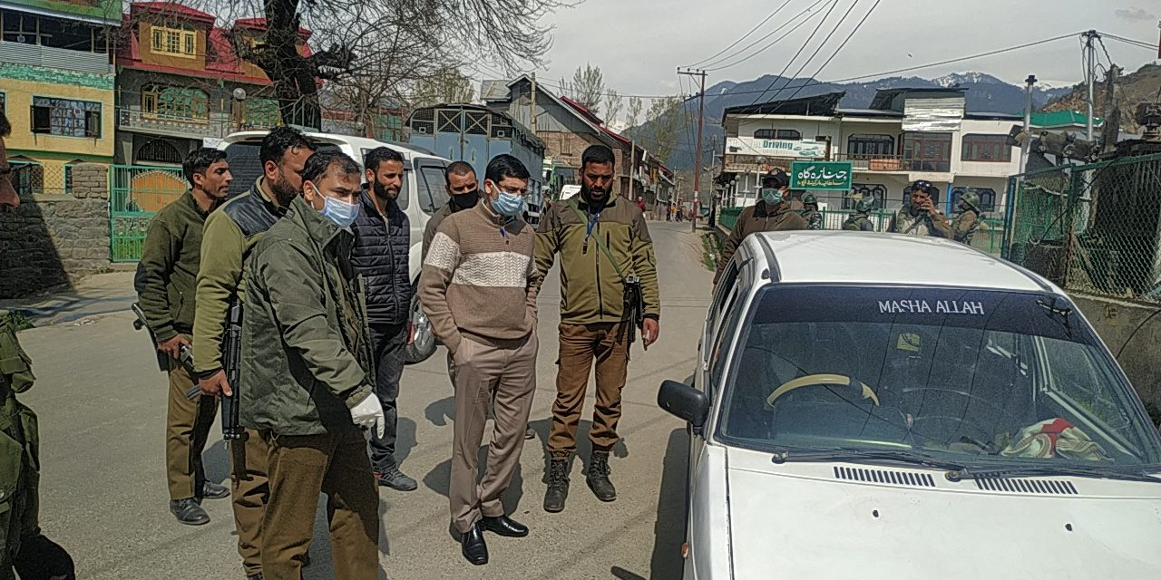 DC Bandipora calls for strict implementation of lockdown;Urges people to cooperate with admin to fight COVID-19