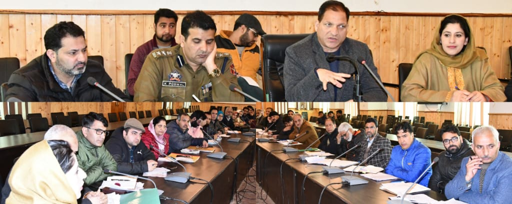 Corona Virus outbreak          Preparatory measures reviewed at Ganderbal