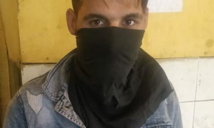 Srinagar police arrests wanted stone pelter