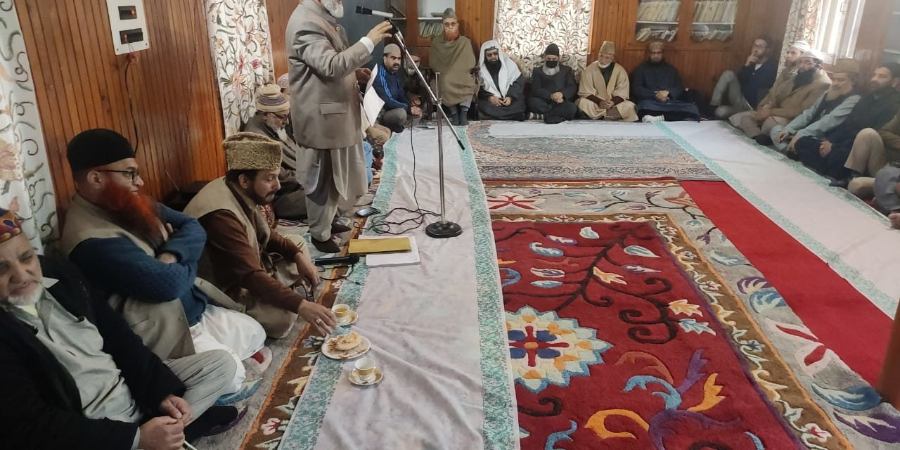 Ulema Meet—No closure of Masjids in Kashmir, Imams to restrict Friday sermons to five minutes only: Grand Mufti