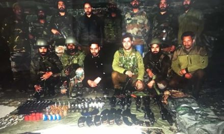 5 militant associates arrested, arms and ammunition recovered in North Kashmir