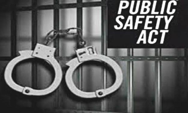 Kulgam youth booked under PSA, shifted to sub jail Mattan