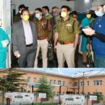 DM Ganderbal inspects SDH Kangan, takes stock of patient care, availability of essential commodities, implementation of restrictions