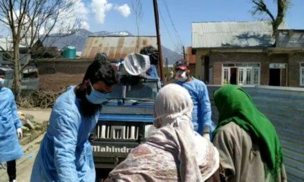 Amid Lockdown Hajin Police Carries Pregnant Women To Hospital