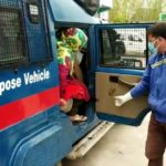 COVID 19: Amid Tight Restrictions,Hajin Police Rescues Female Patient