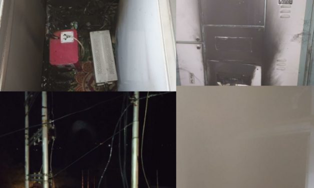 Negligence of PDD damages PHC And property in Wussan